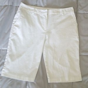 BCX White Dress Shorts